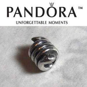 790171 Retired Pandora Snake Charm